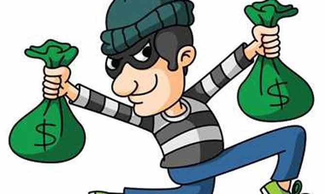 आगरा में चोरों का कारनामा, छत काटकर ज्वैलर के यहां लाखों की चोरी