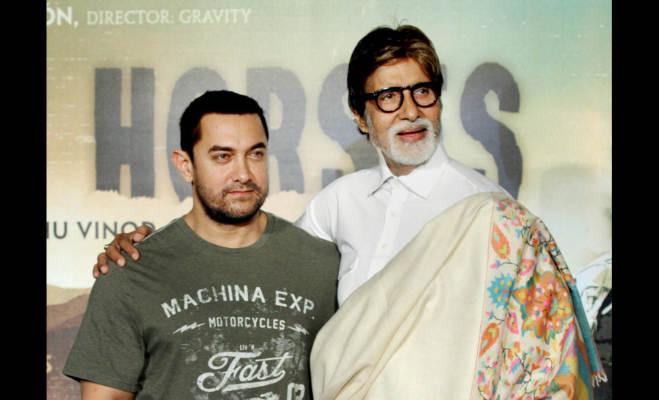 अमिताभ को सामने देख कर आमिर के मुंह से नहीं फूटते बोल,फिर भी इस फिल्म में संग नजर आएंगे