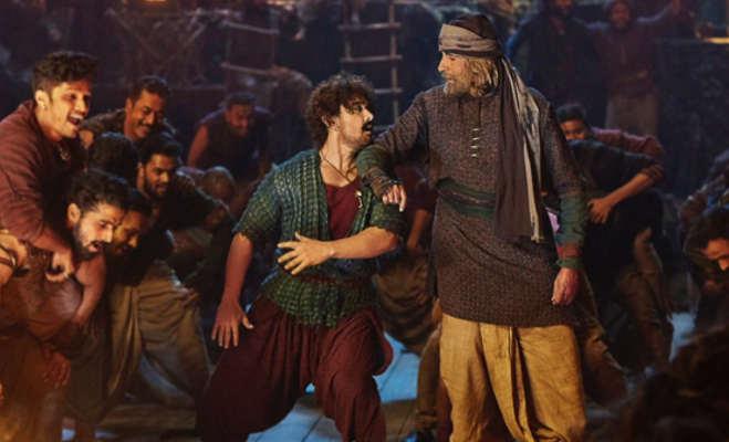 thugs of hindostan movie review : गधे पे सवार हैं,ठग्स ऑफ हिंदोस्तान