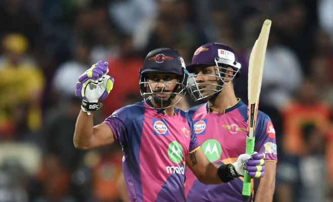 इस क्रिकेटर ने कहा कि मेरी वजह से पुणे को मिली है हार