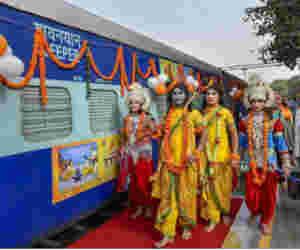 श्री रामायण एक्सप्रेस से 16 दिनों में करें प्रभु श्री राम से जुड़े स्थलों के दर्शन, जानें कितने का है टिकट