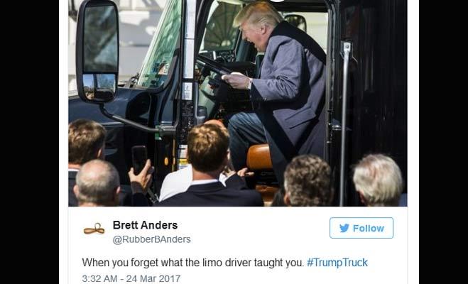 जब ट्रक चलाने लगे अमेरिका के राष्ट्रपति