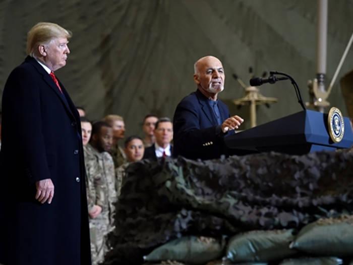 अचानक अफगानिस्तान पहुंचे ट्रंप,कहा तालिबान के साथ फिर से शुरू हुई शांति वार्ता