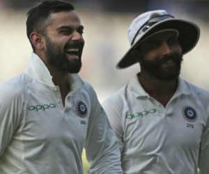 हैदराबाद टेस्ट : मैदान में बने मंदिर की वजह से टीम इंडिया यहां नहीं हारती मैच