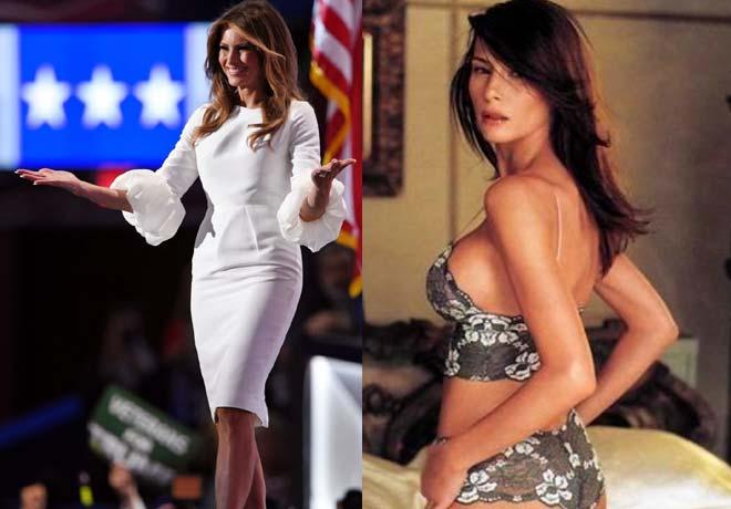 प्रेसीडेंट ट्रंप की वाइफ,1st lady मेलानिया हैं फैशन मॉडल,उनकी ये बोल्ड तस्वीरें देख दुनिया रह गई दंग!