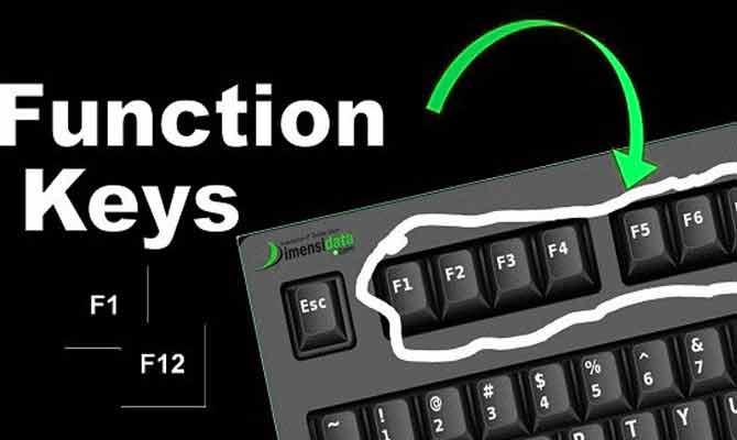F1 से F12, क्या होता है इन Keys का इस्तेमाल