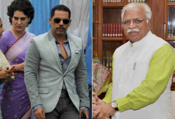 राहुल गांधी के जीजा वाड्रा पर फिर आर्इ एक बड़ी मुसीबत, सीएम खट्टर का इशारा नहीं मिलेगी राहत