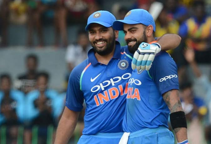 वनडे क्रिकेट में सबसे ज्यादा बार 200 की साझेदारी करने वाली है विराट-रोहित की जोड़ी