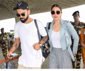 एयरपोर्ट पर साथ दिखे विराट-अनुष्का, जानिए कहां जा रहे हैं दोनों