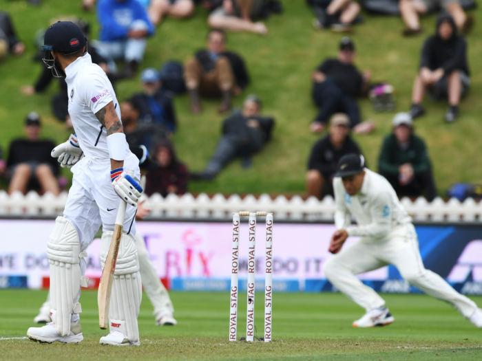 Image result for Virat Kohli vs New Zealand 1st Test