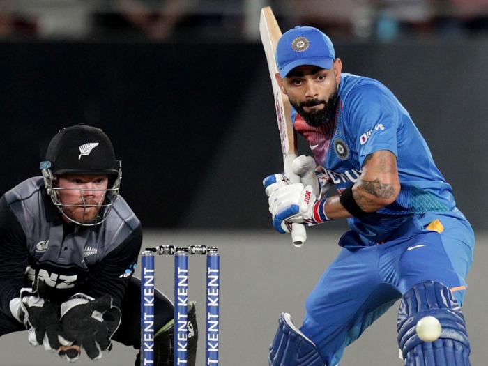 ind vs nz 1st t20i: न्यूजीलैंड के खिलाफ सबसे ज्यादा टी-20 रन बनाने वाले भारतीय बल्लेबाज बने विराट कोहली