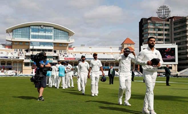 86 सालों में इंग्लैंड में 7वीं बार कोई टेस्ट मैच जीता है भारत