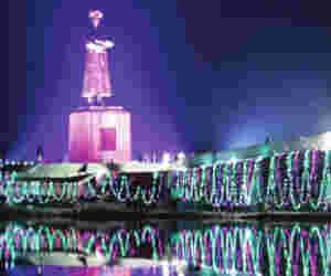 स्वामी विवेकानंद जी की सबसे बड़ी प्रतिमा रांची में