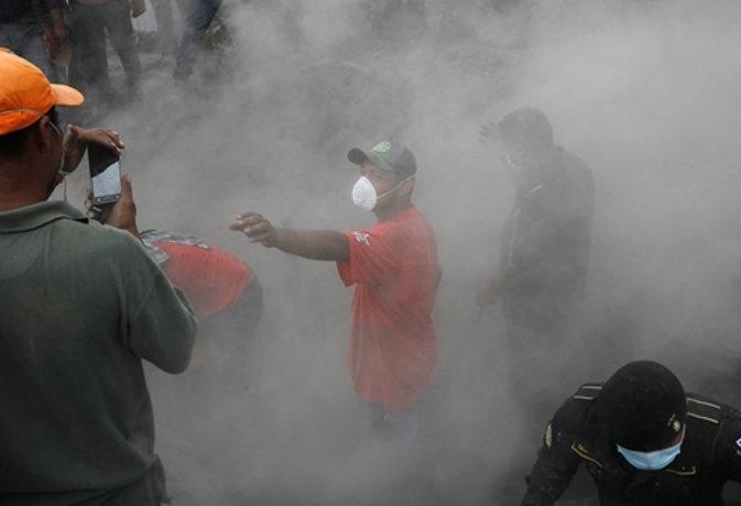 ग्वाटेमाला में ज्वालामुखी विस्फोट से अब तक 109 लोगों की मौत, 200 से अधिक लापता