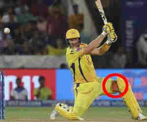 IPL फाइनल : खून से लथपथ पैर के साथ खेल रहे थे वाटसन, आउट होने तक नहीं बताया किसी को