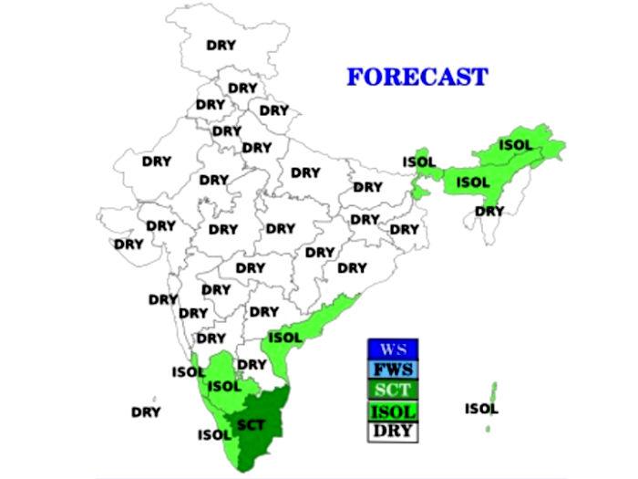 weather alert! वेस्टर्न डिस्टर्बेंस से हिमालयी क्षेत्रों में बारिश,उत्तर भारत में बढ़ेगी ठंड