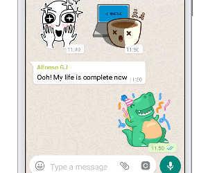 वाट्सएप में पहली बार लॉन्च हुए फन स्टीकर्स, जो बदल देंगे आपकी चैटिंग का अंदाज