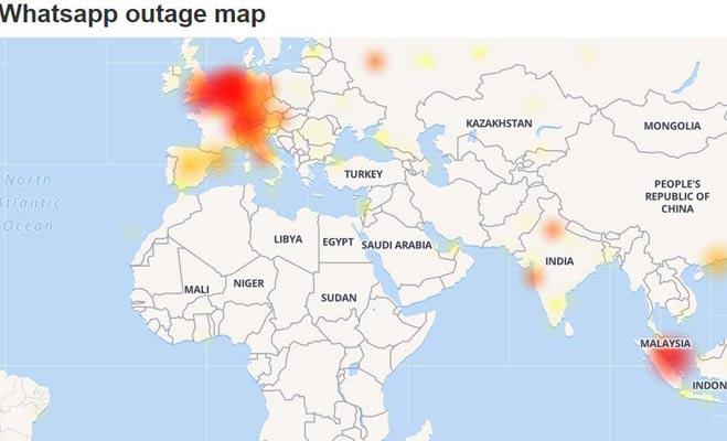भारत सहित कई देशों में बंद हुआ व्हॉट्सएप,मचा हड़कंप