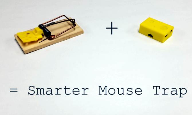 इस चूहे पकड़ने की मशीन में लगा है wi-fi,जो चूहा पकड़ते ही स्मार्टफोन पर भेजेगा नोटिफिकेशन