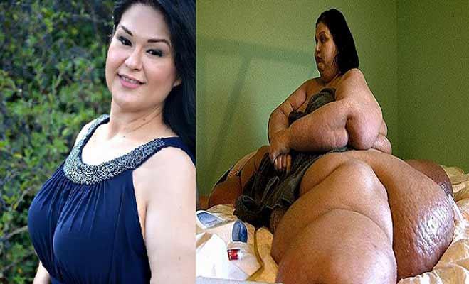 omg! इस लेडी ने घटाया 363 किलो वजन