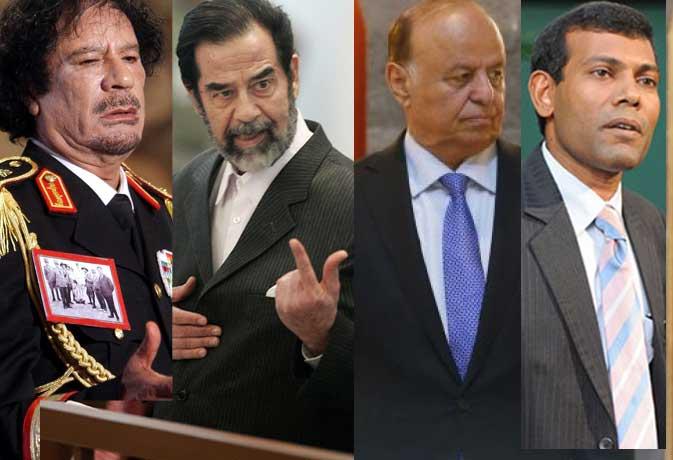 दस राष्ट्राध्यक्ष जिन्हें देश छोड़कर भागना पड़ा