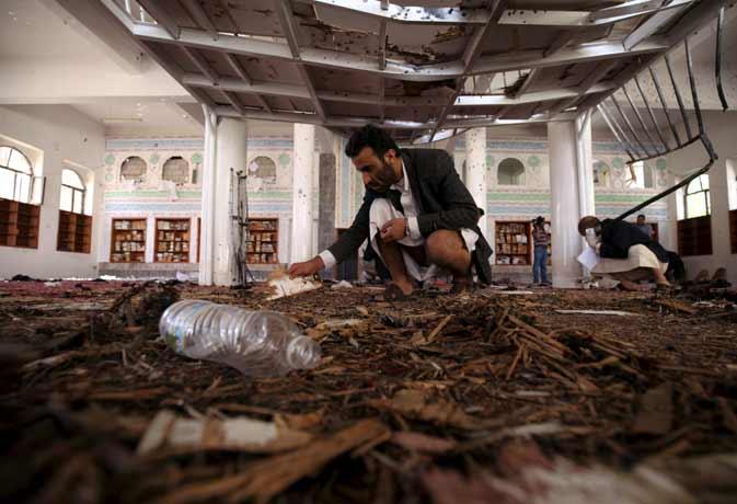आईएस ने ली यमन आत्मघाती हमलों की जिम्मेदारी