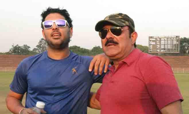 क्रिकेटर पिता के क्रिकेटर बेटे