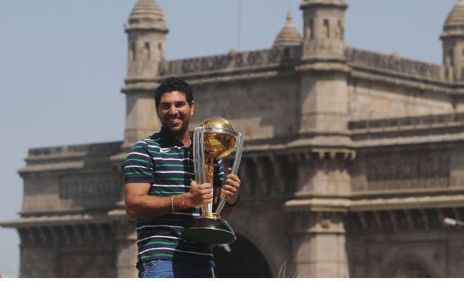 2011 में भारत को चैंपियन बनाने वाले युवराज ने लिया संन्यास,वर्ल्डकप में ऐसा रहा है युवी का प्रदर्शन